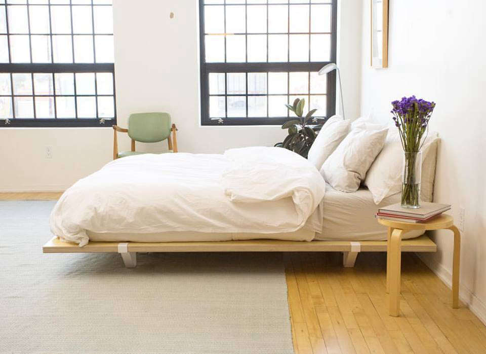 5 Favorites: The New Portable Flat-Pack Bed Frame