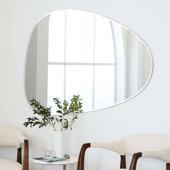 HighLow Asymmetrical Decorative Mirrors Remodelista