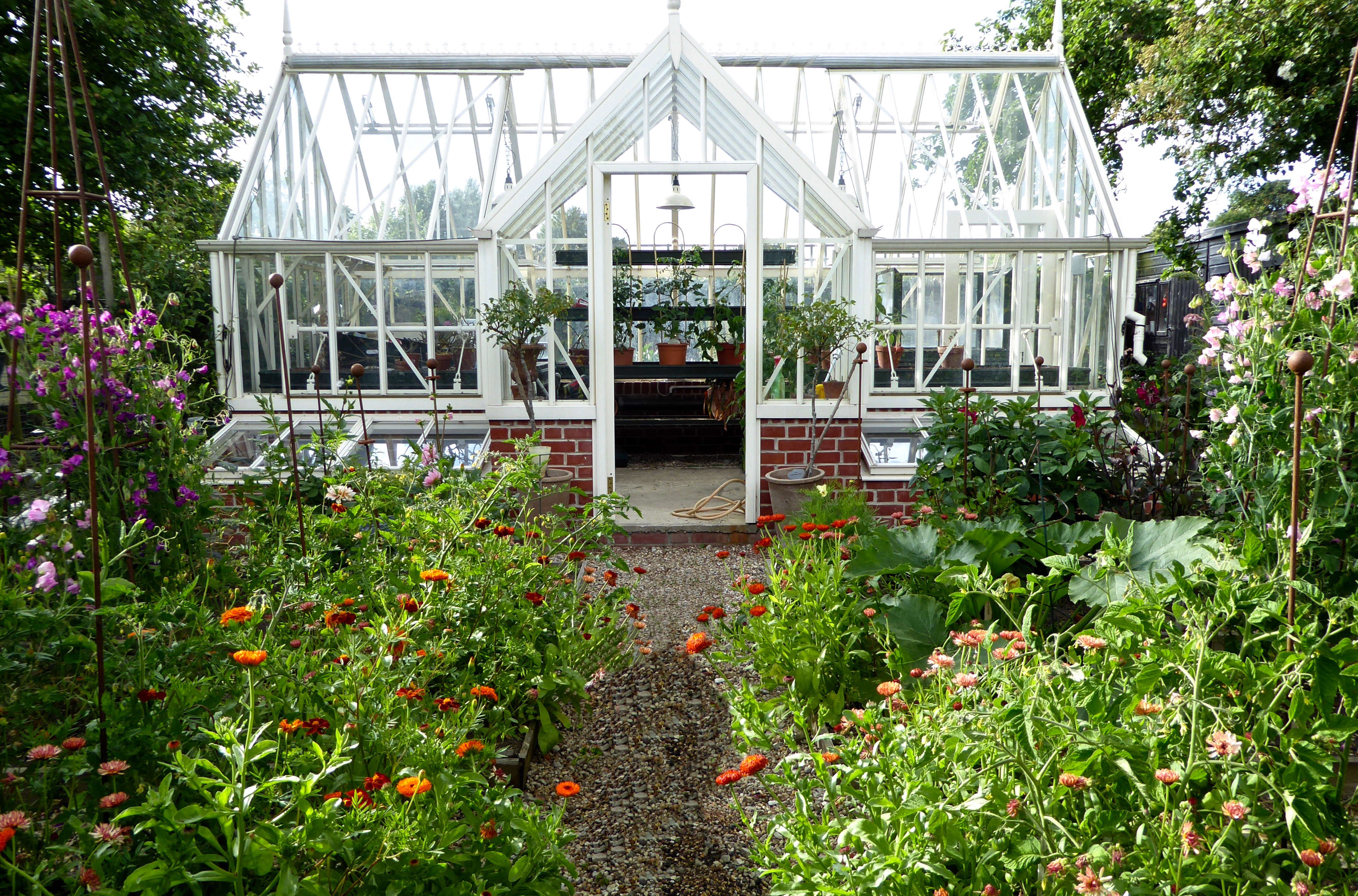 Above: When Catherine Moved Here, She Invested In A Serious Greenhouse From  Alitex Together With Cold Frames, A Misting Zone For Nurturing Cuttings And  ...