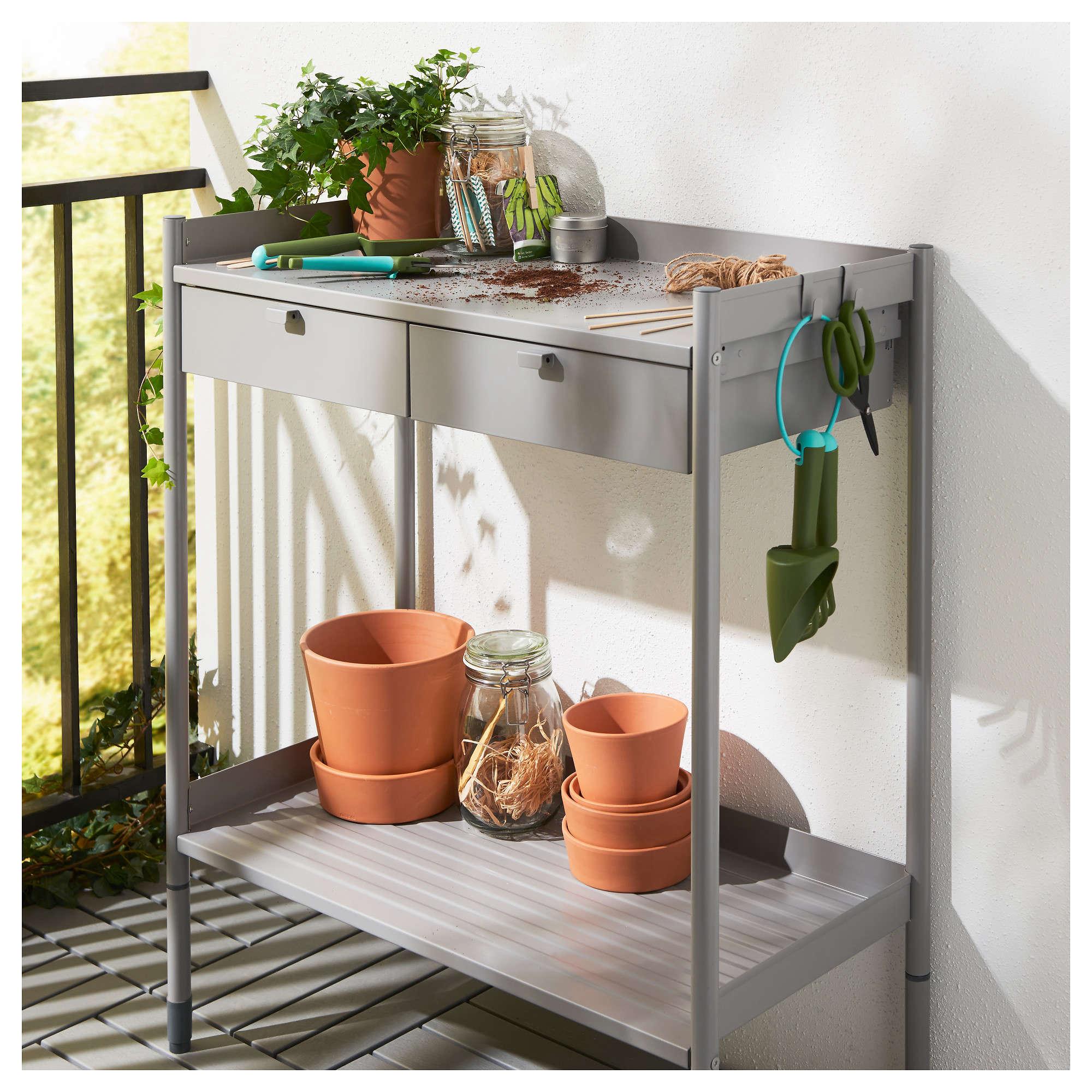 Hind potting bench gardenista - Ikea muebles jardin 2017 ...