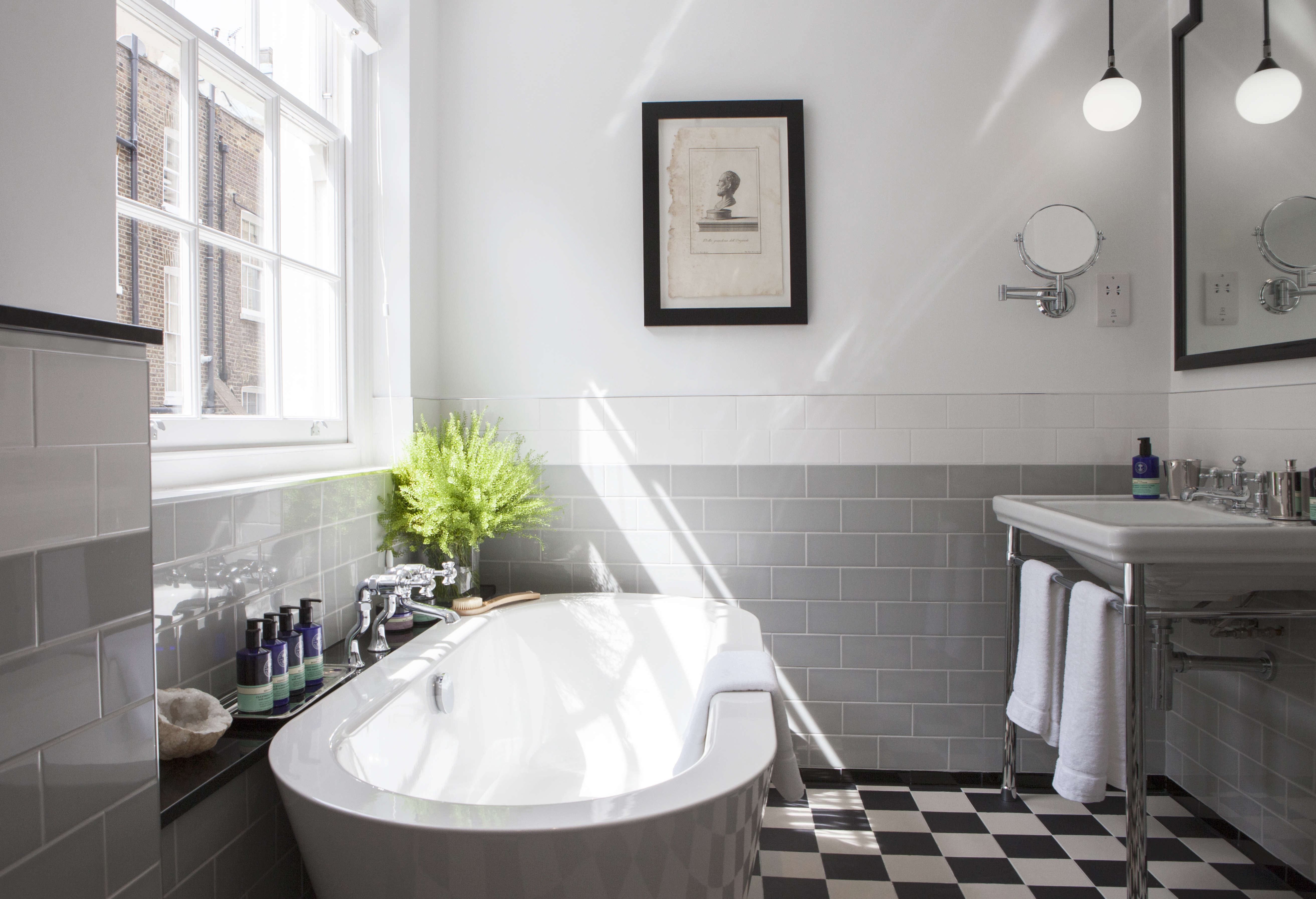 The Laslett Notting Hill Master Bedroom Suite Bathroom