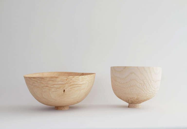 Found and Found Wooden bowls