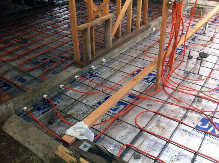 Remodeling 101 5 things to know about radiant floor heating for Radiant heat wire