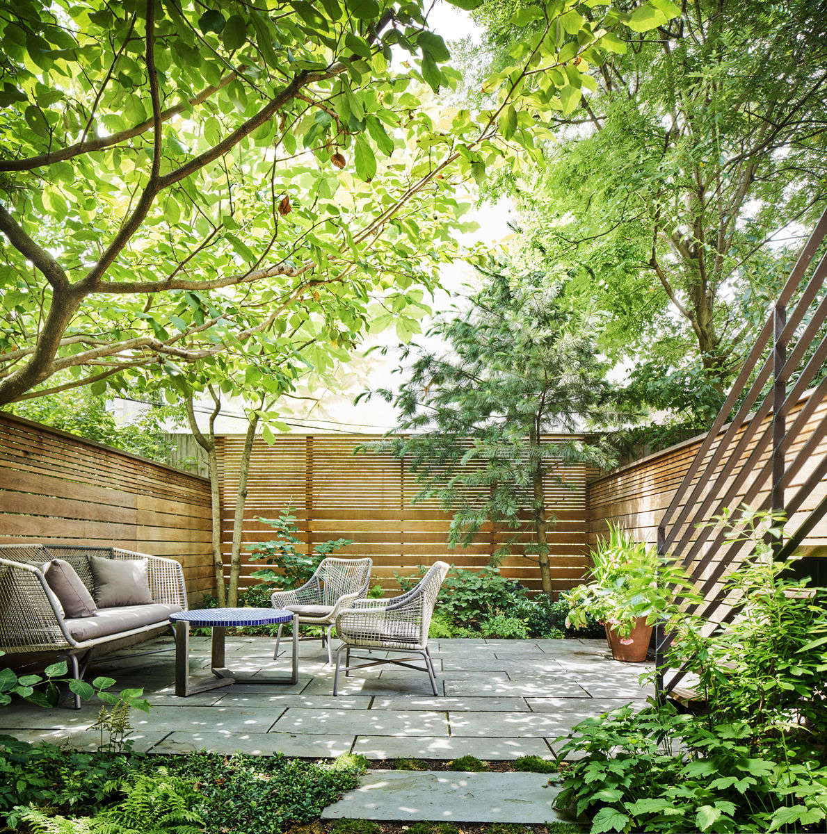 Landscape Architect Visit: A Leafy Garden In Park Slope In