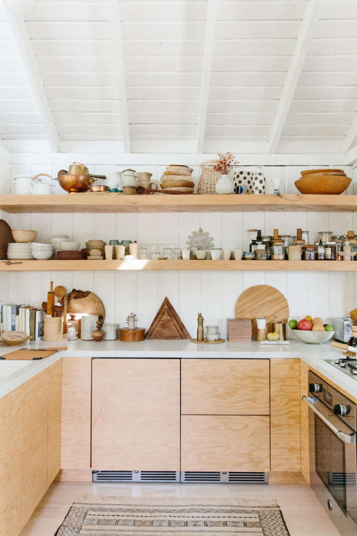 Kitchen of the week a hip low key kitchen in topanga for Kitchen cabinets zen