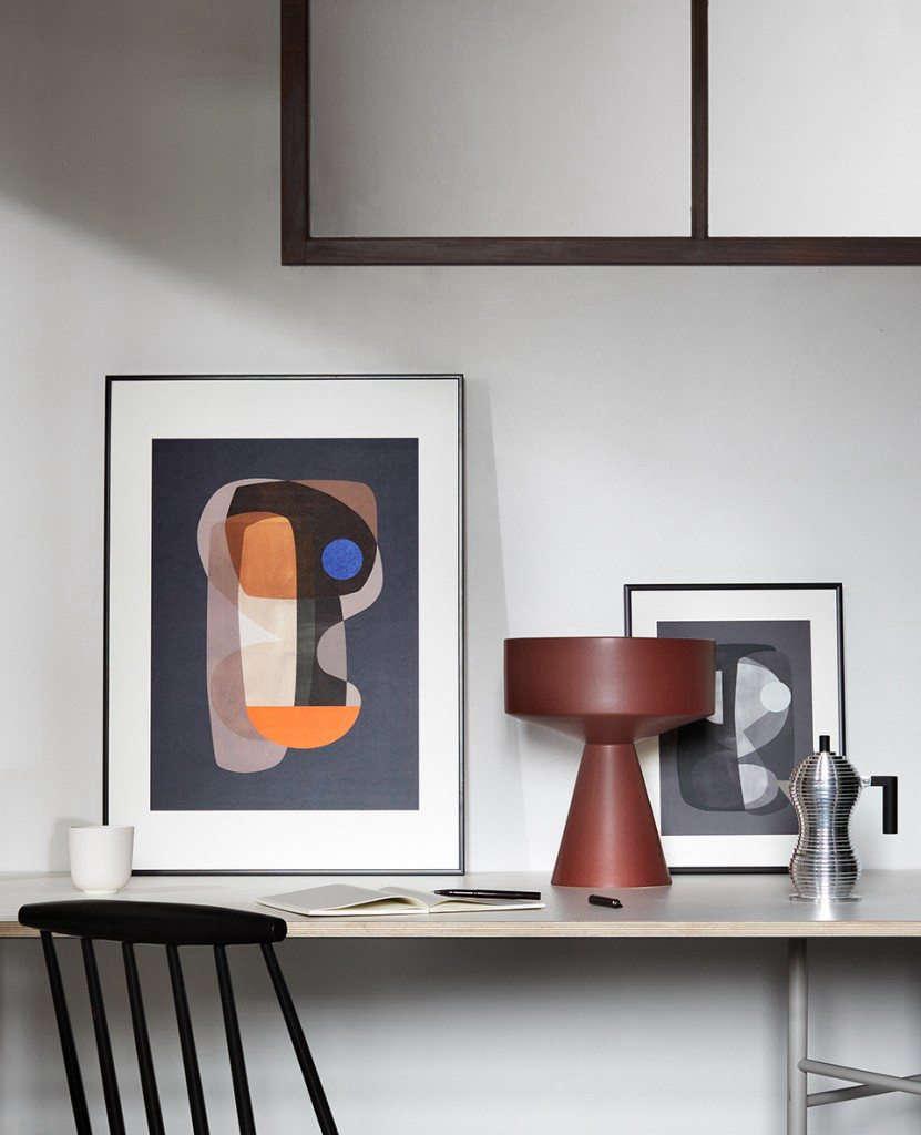 Trend Alert Dalmatian Print Home Decor: Affordable Art: Colorful Geometric Art Prints And Posters