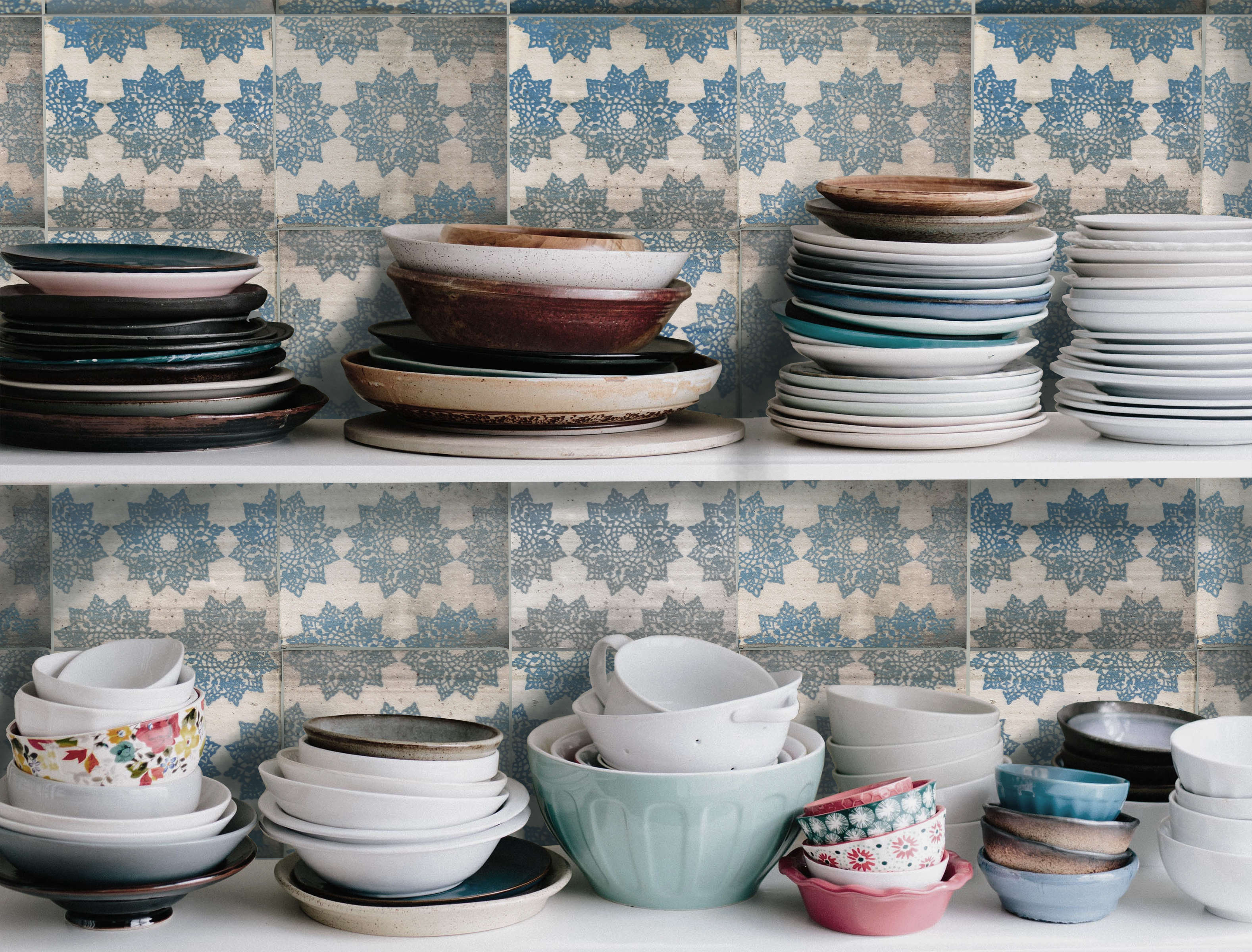 A new blue delft tile line from a california artist remodelista sourcebook for the considered home bloglovin