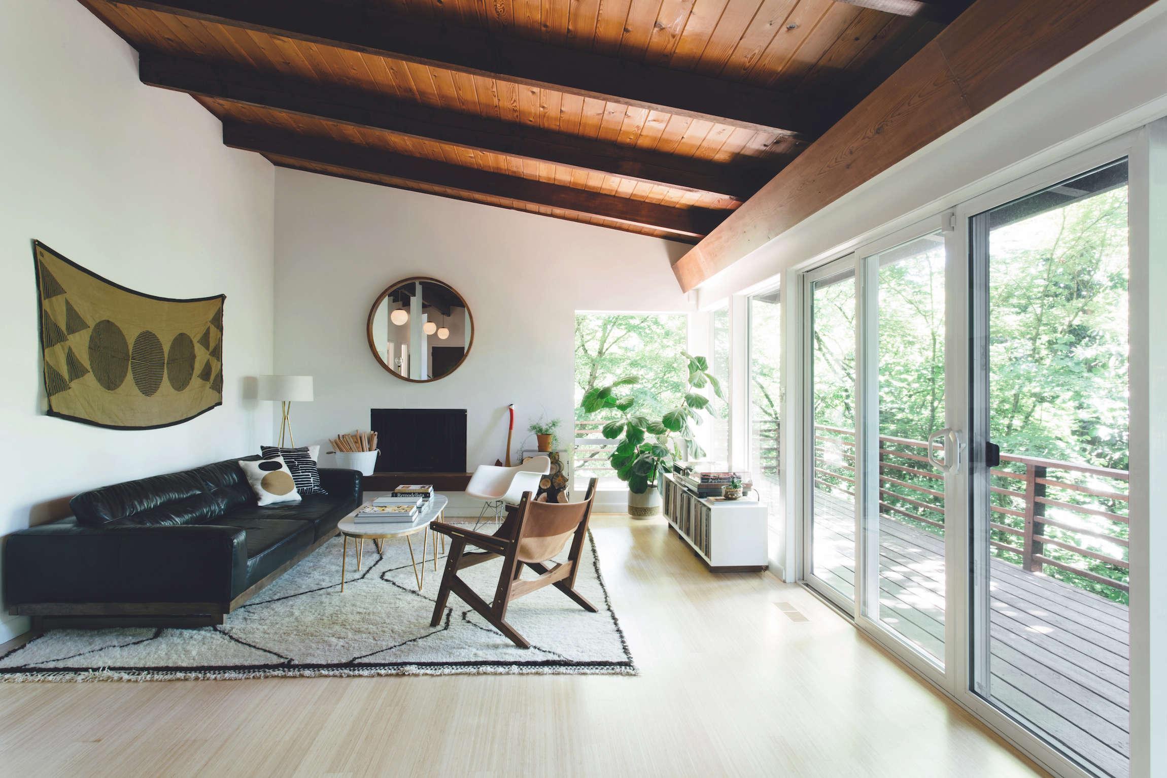 Steal This Look: Midcentury Modern Living Room in Portland ...