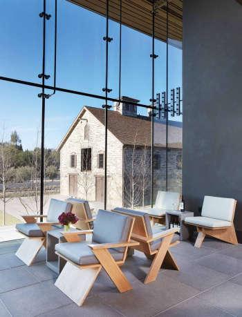 nicolehollis hall winery st helena chairs