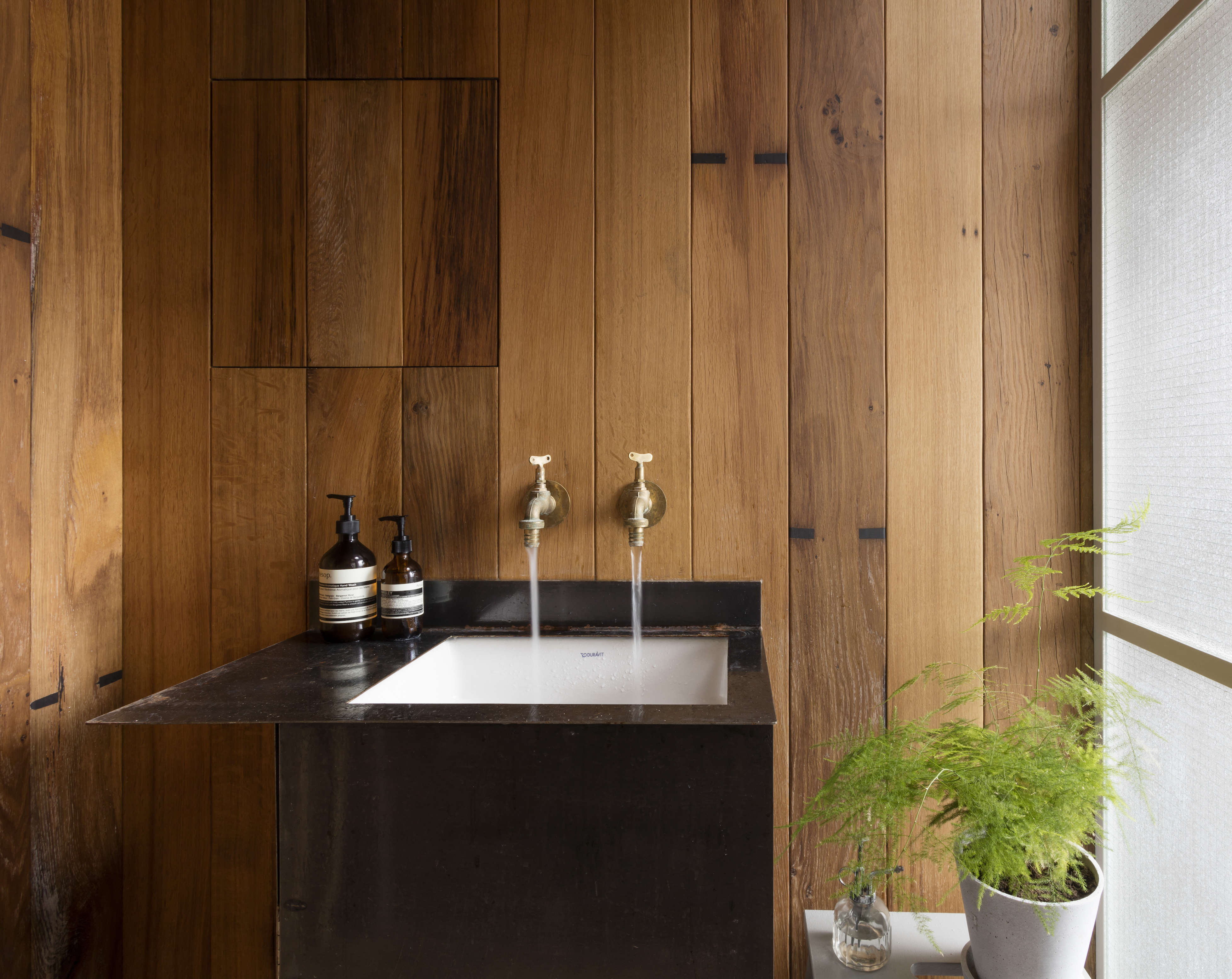 cutting home for faucet diy look sourcebook kitchen hudson stealth wilson a barber sink by valley star deborah the bloglovin blogs faucets considered remodelista design this steal ehrlich boards