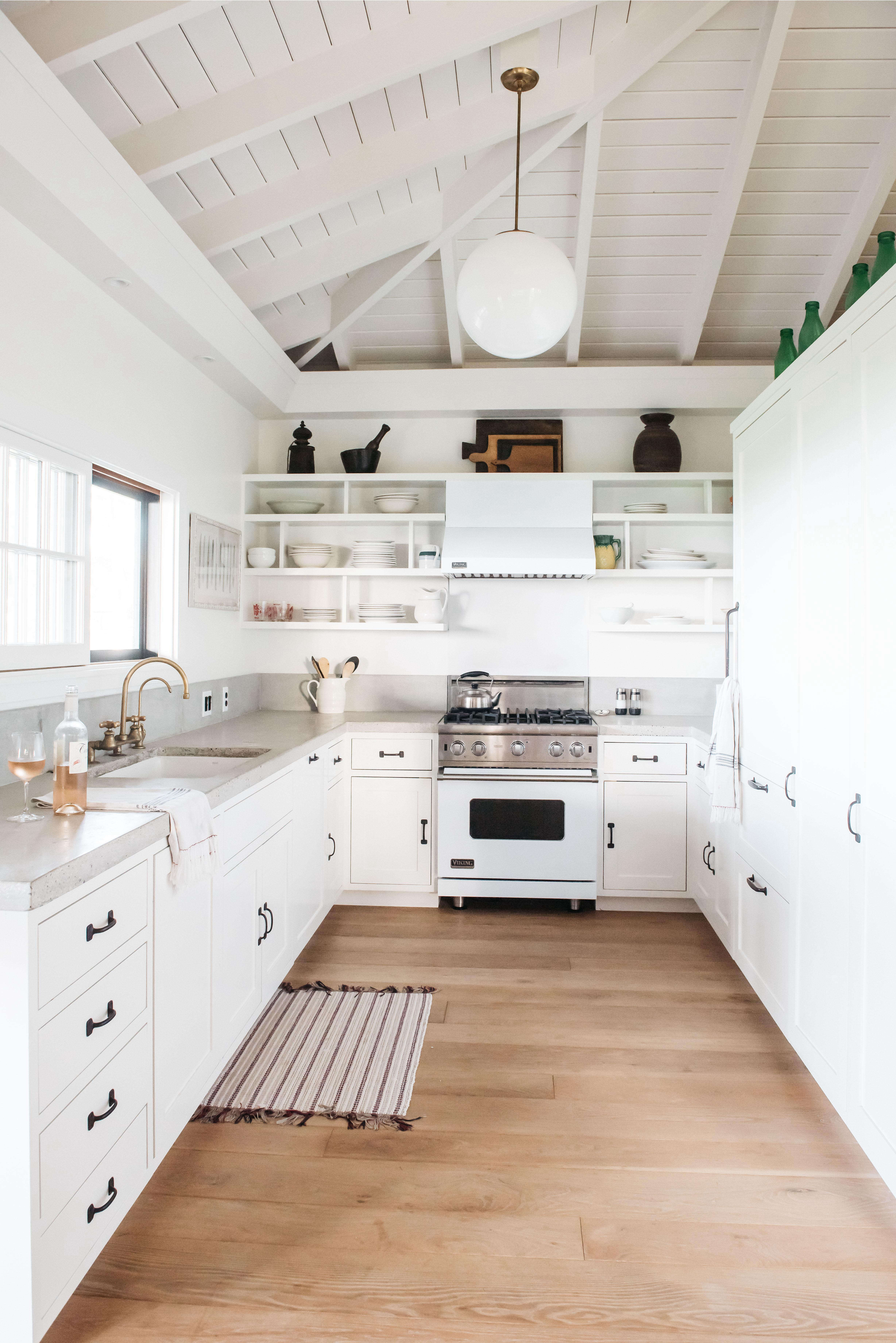 Steal This Look A Modern All White Kitchen in Maui