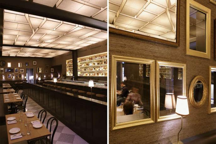 Maysville Restaurant in Manhattan by Berman Horn Studio