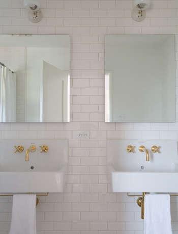 Gordana Golubovic LA Home Bath, Photo by Lauren Moore