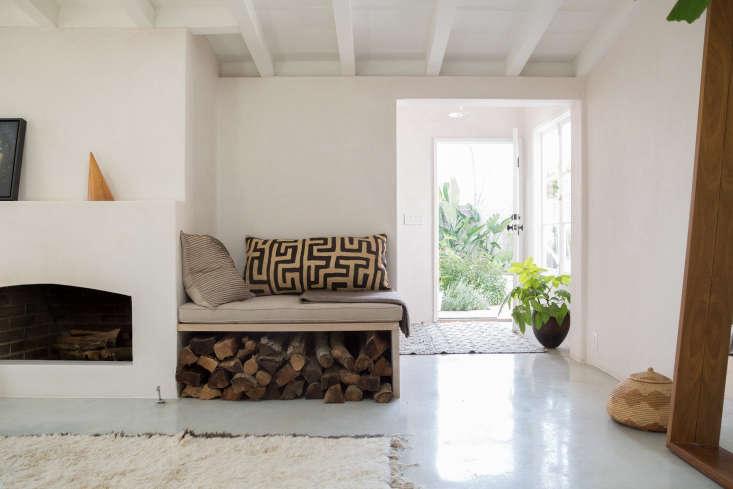 Gordana Golubovic Wood Storage Living Room, Photo by Lauren Moore