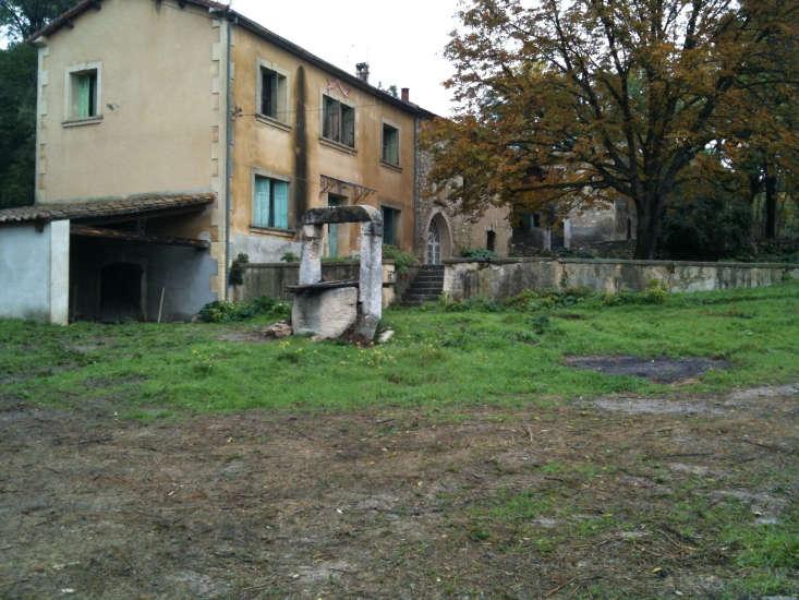 A mas in Les Baux de Provence, pre-renovation.