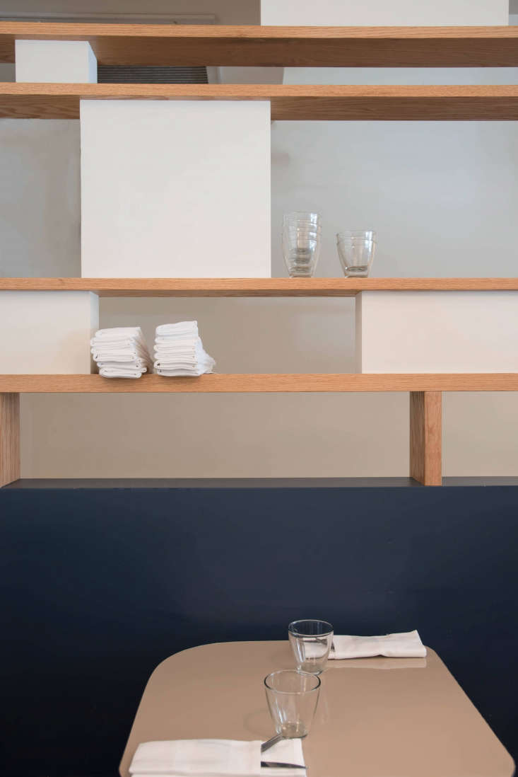 Remodelista Mimi Table with Wooden Shelves, Photo by Alison Engstrom