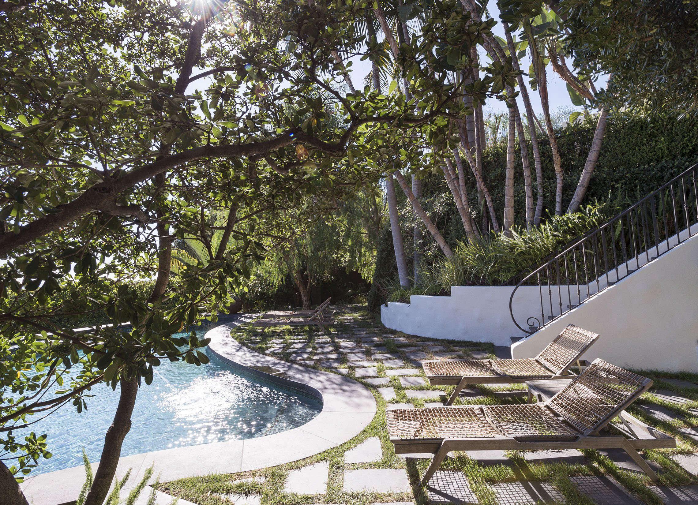 Landscape Ideas Garden Design For A Swimming Pool Area Gardenista