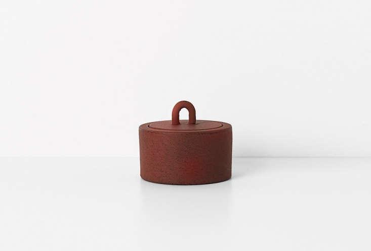 Ferm Living Buckle Jar in Rust