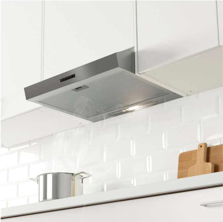Ikea Eventuell Built-In Extractor Hood in Stainless Steel