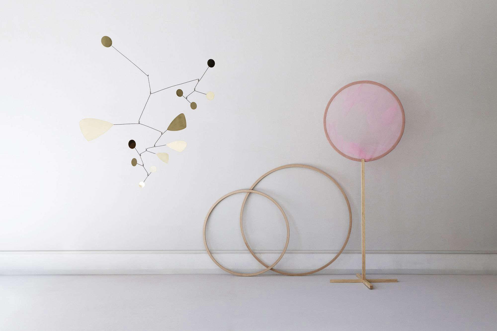 Object of Desire Glamorous Brass Mobiles Inspired by Alexander Calder portrait 3