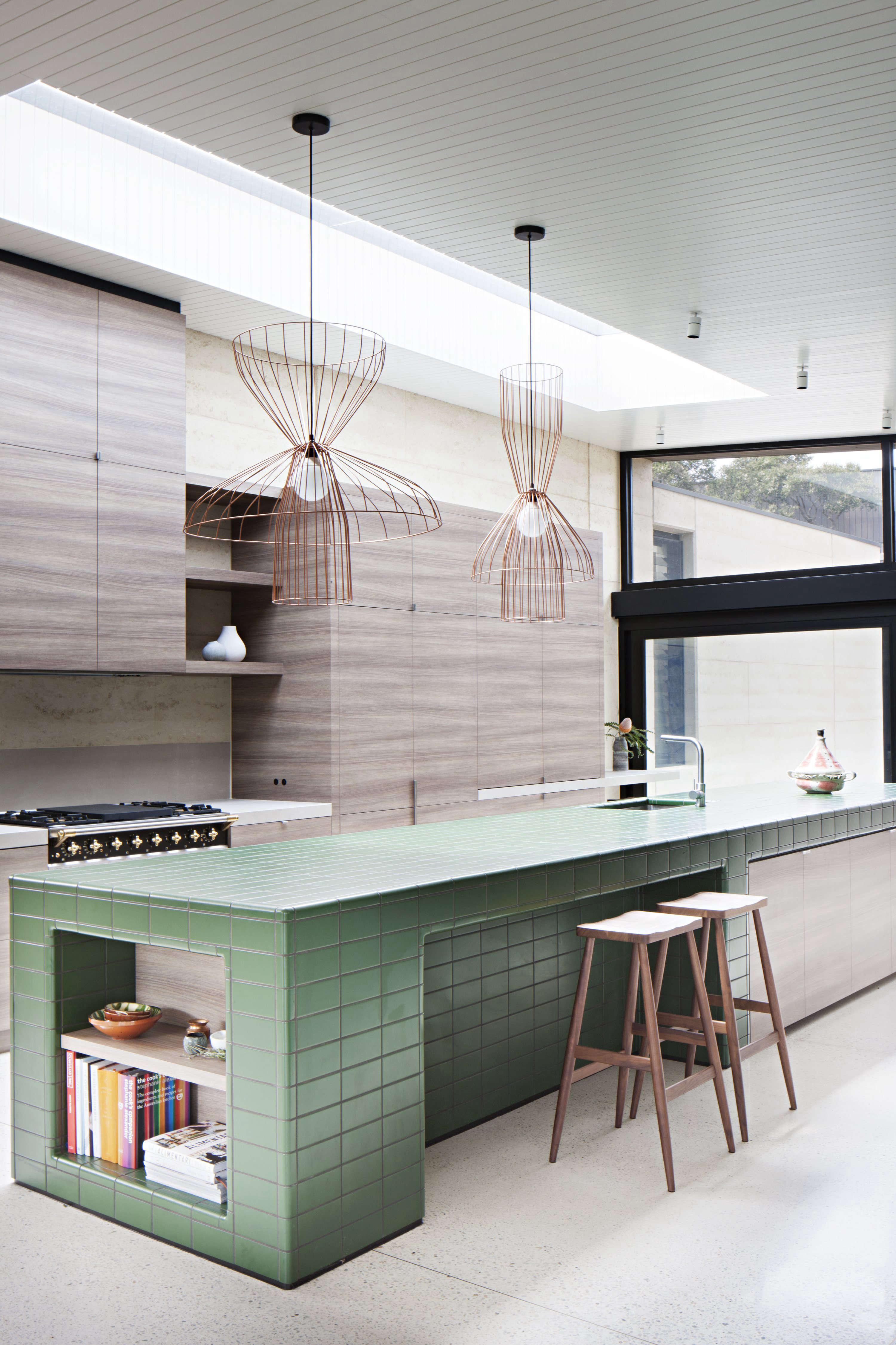 layer house tiled kitchen island australia robertson rak architects shannon mcgrath photo 3