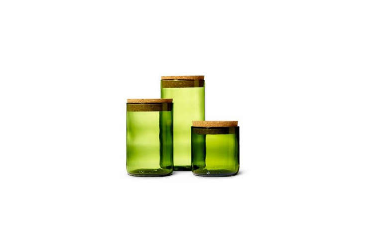 Wine Punts Kelly Green Canisters