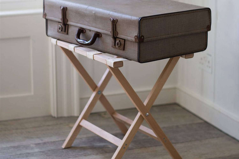 folding luggage racks cover