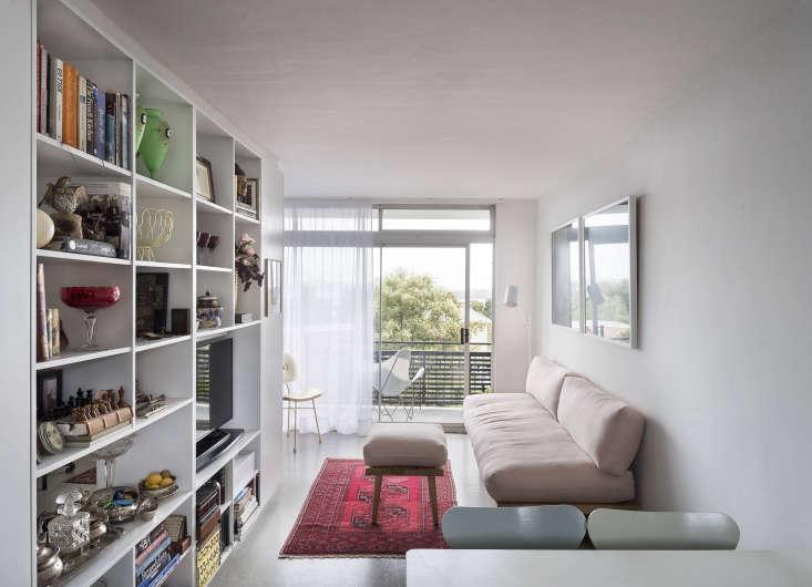 Karin Montgomery Spath New Zealand Studio Kitchen Living Room, Photo by Matthew Williams