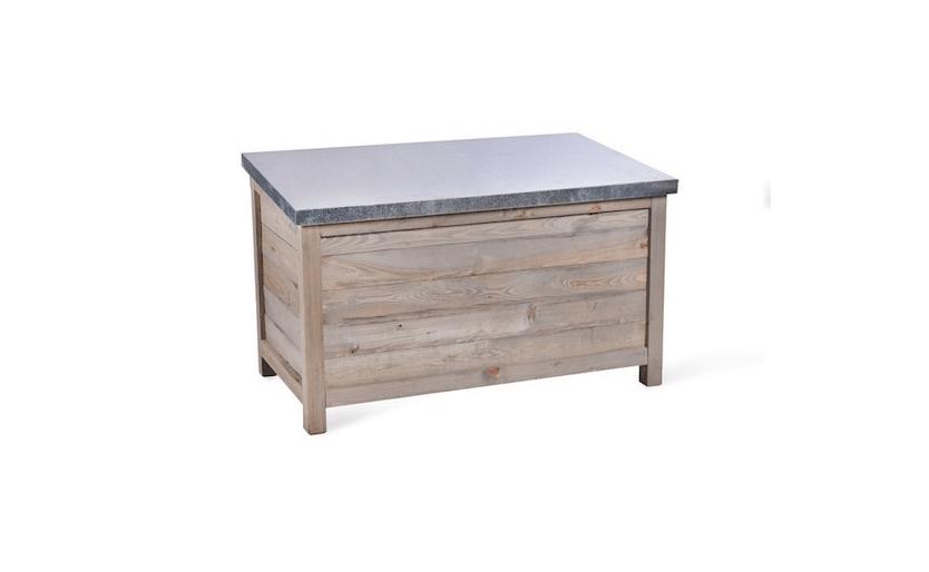 Aldsworth Outdoor Storage Box, Outdoor Wooden Storage Box Waterproof