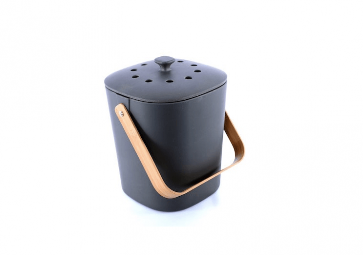 bamboo countertop composter from Bamboozle