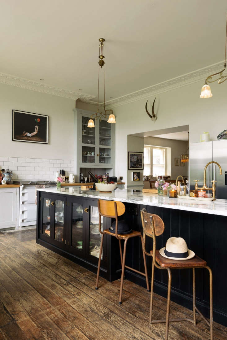 Beautiful and quirky vintage style English Country kitchen by deVOL