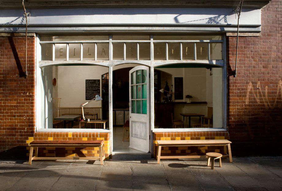 studioilse benches leilas shop exterior