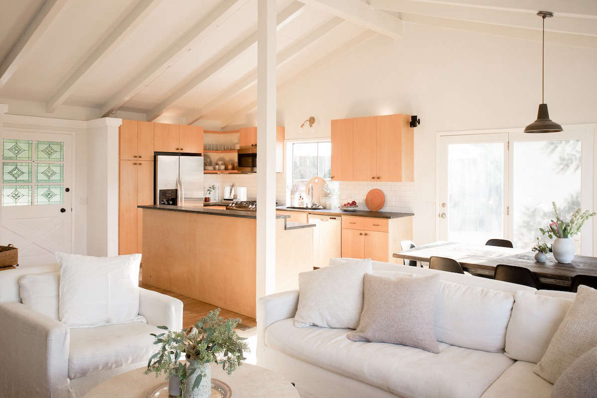 light wood kitchen living julia hunter la_14
