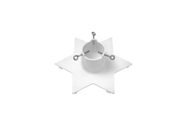 The Bruka Design Christmas Tree Star in white (also available in black) cast iron is 895 SEK (\$\106 USD) at Bruka Design.