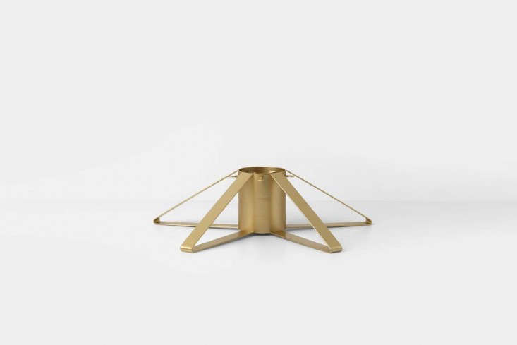Another style from Ferm Living, the Christmas Tree Foot in brass can be sourced at Finnish Design Shop for \$68.90.