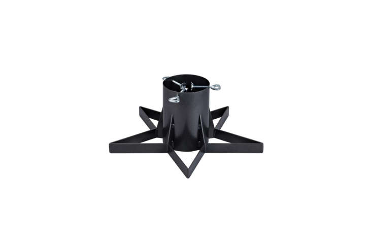 From Markslöjd, theJulle Tree Stand in black metal is available through Markslöjd or on Wayfair in the UK; £78.99 (\$\106).