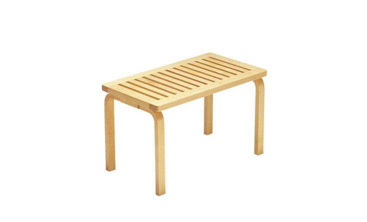 Alvar aalto bench wood