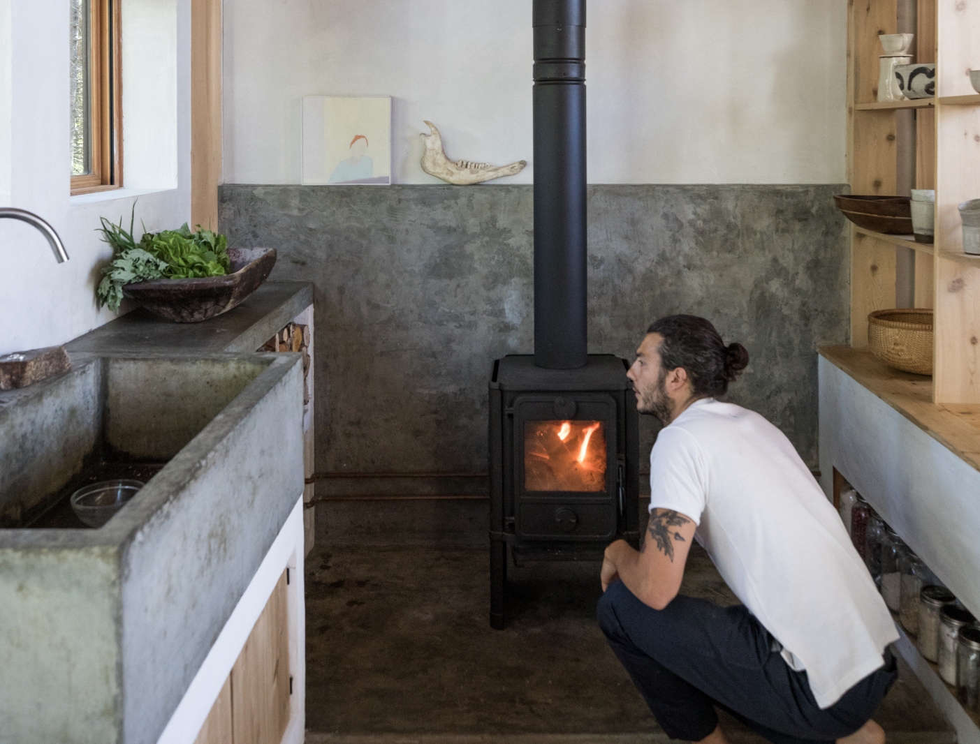 anthony esteves in soot house kitchen with sink greta rybus cover image cropped 1403x1066