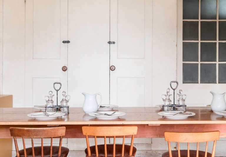 canterbury shaker village erin little dining room table