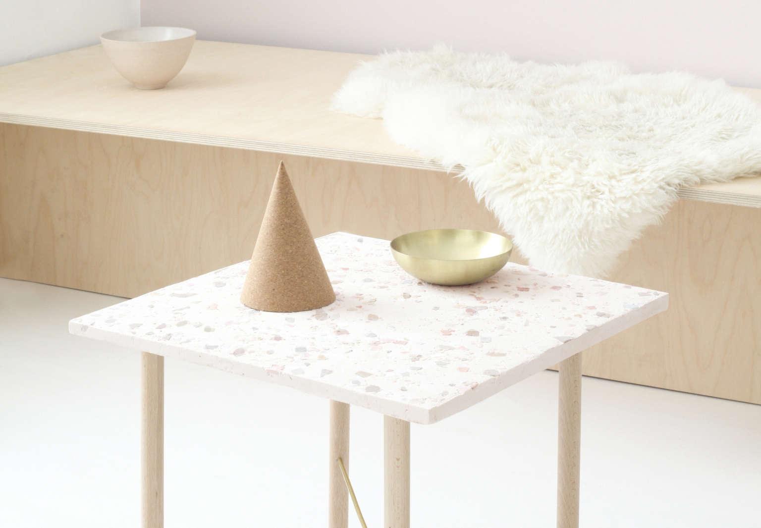 diy terrazzo table by heju paris 2