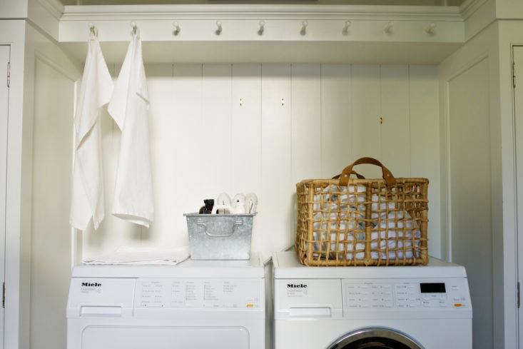 Vinegar can freshen up towels that smell mildewy and musty. Photograph by Andres Gonzalez, from Tricks of the Trade: 8 Tips for Elegant Storage with Architect Barbara Chambers.