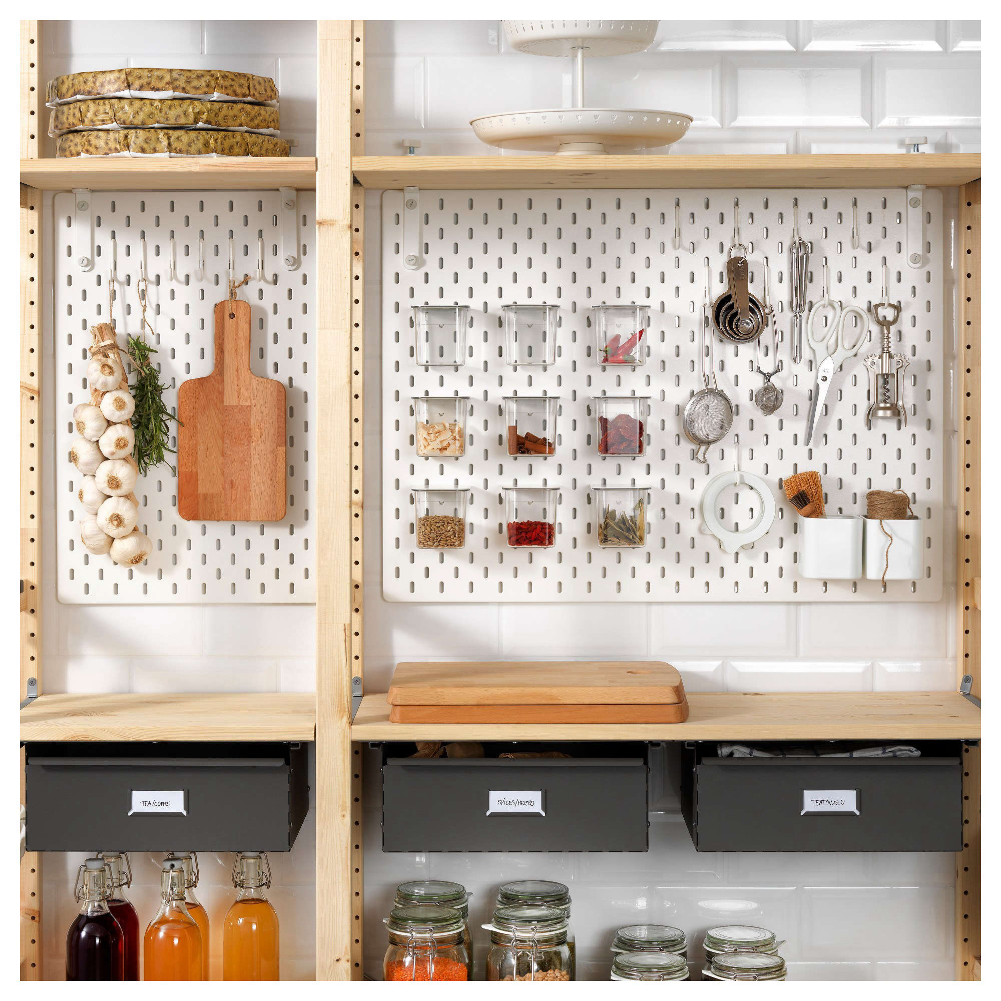 News You Can Use Ikea S Skadis Pegboards Now Available In Us The Organized Home