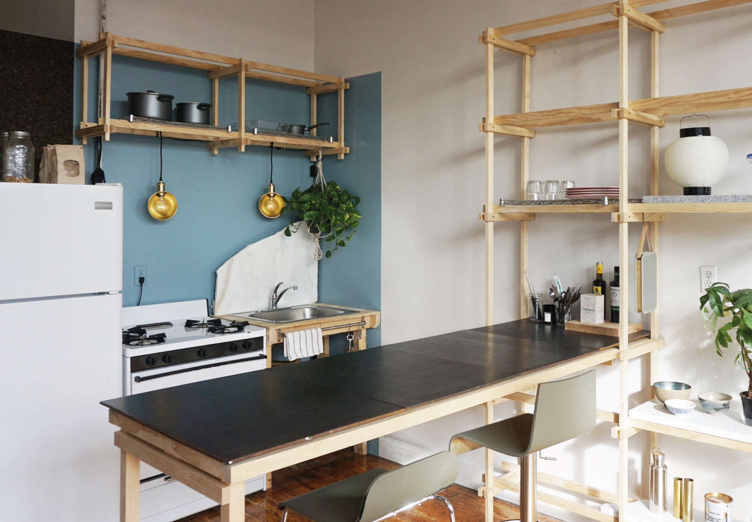 kristina line anton bak bushwick apartment kitchen counter 1536x1066
