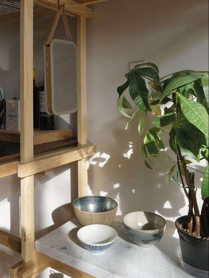 Kristina Line Bushwick Apartment Shelf Detail