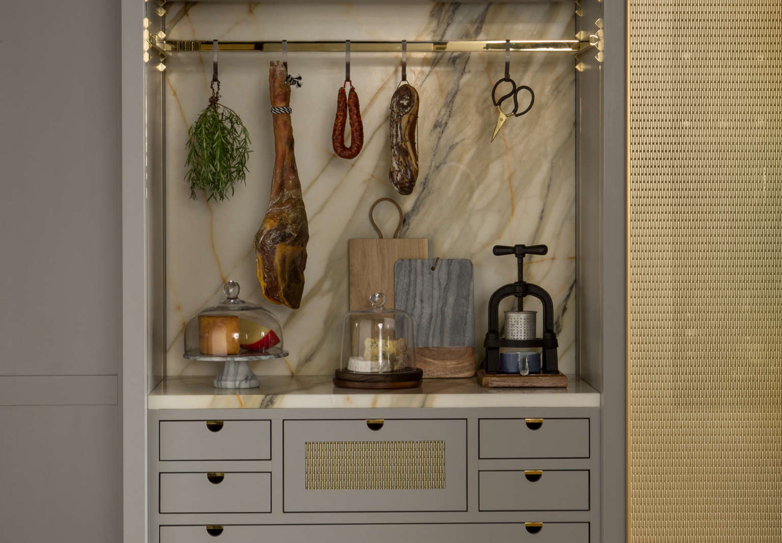 lanserring tradescant kitchen 4c