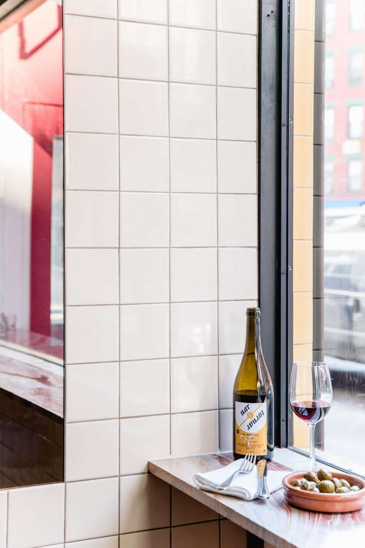 Interior of Cervo's NYC, Photo by Erin Little for Remodelista