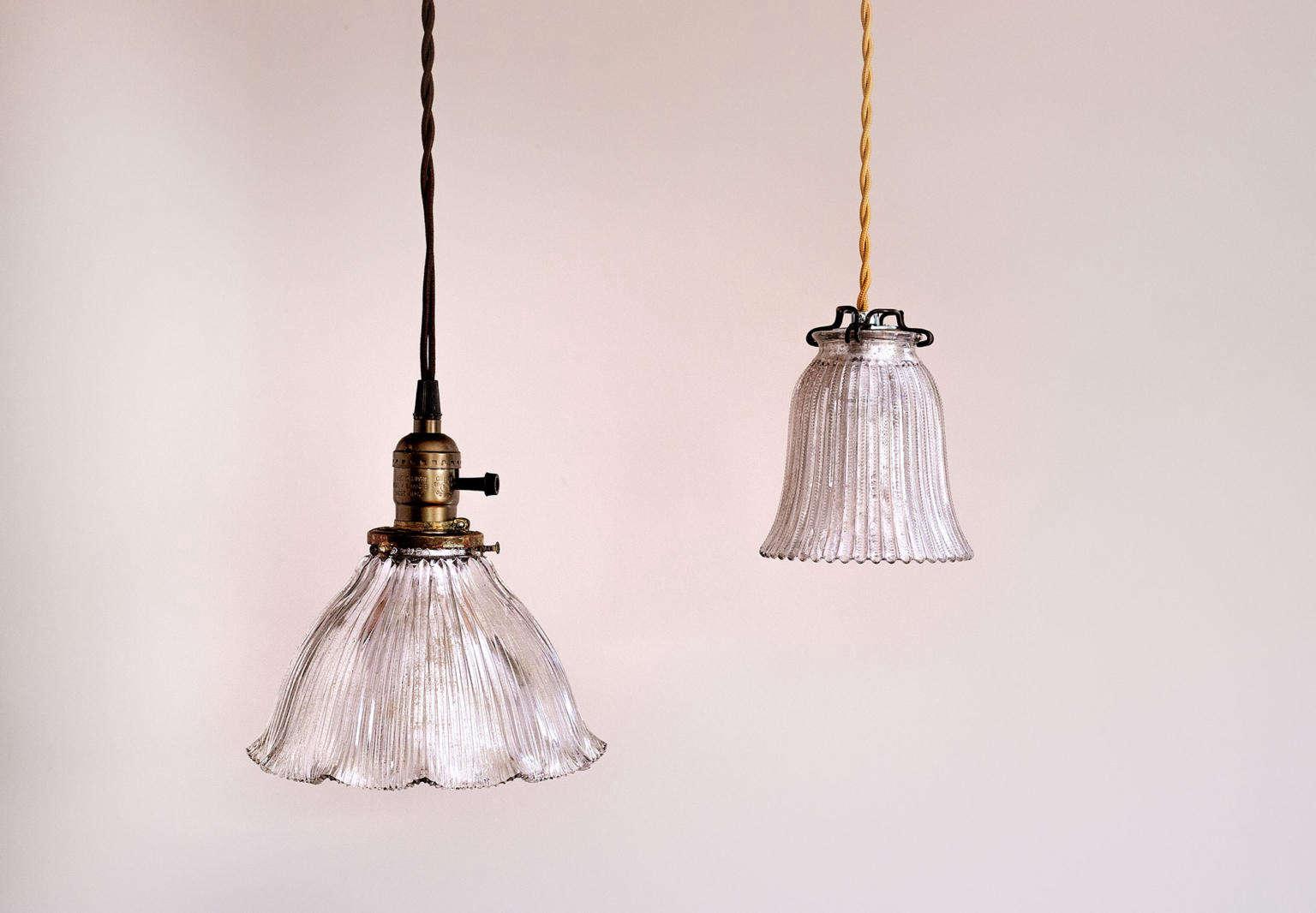 diy vintage mercury glass pendant lights