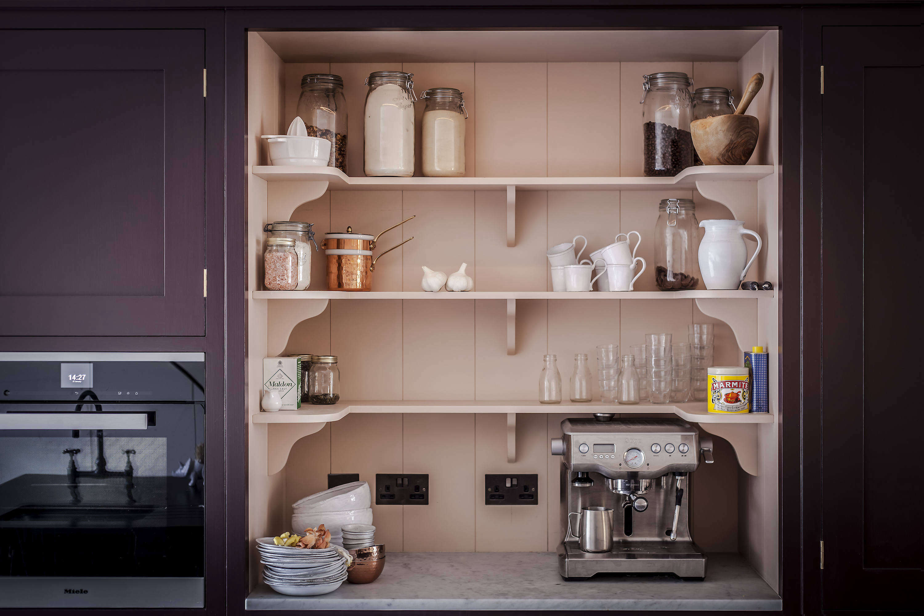 In Plain English 8 Storage Ideas To Steal From The Brit Kitchen Design Firm The Organized Home