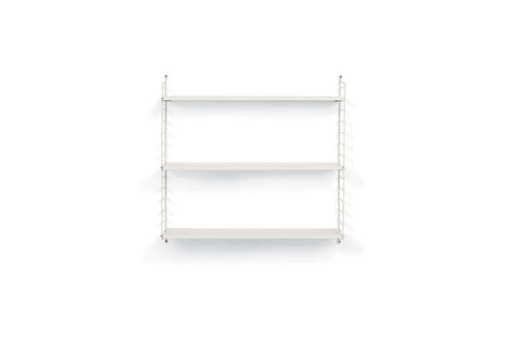 Meredith is excited that Design Within Reach started stocking one of her favorite shelving systems last year: Sweden&#8