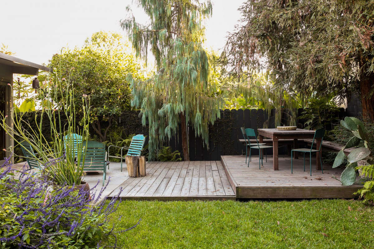 Before After From Desert To Redwood Forest The Essence Of California In One La Garden Gardenista